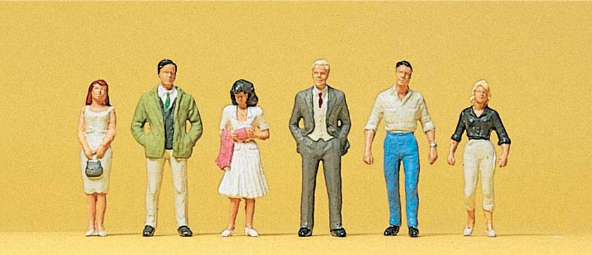 Preiser 14022 HO Passanten 6 Figuren